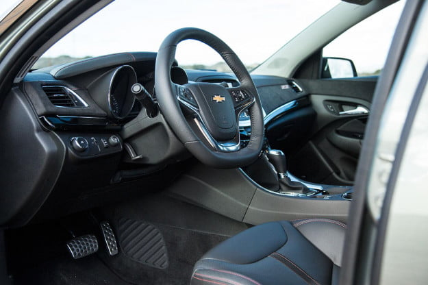 2014 Chevrolet SS steering wheel angle