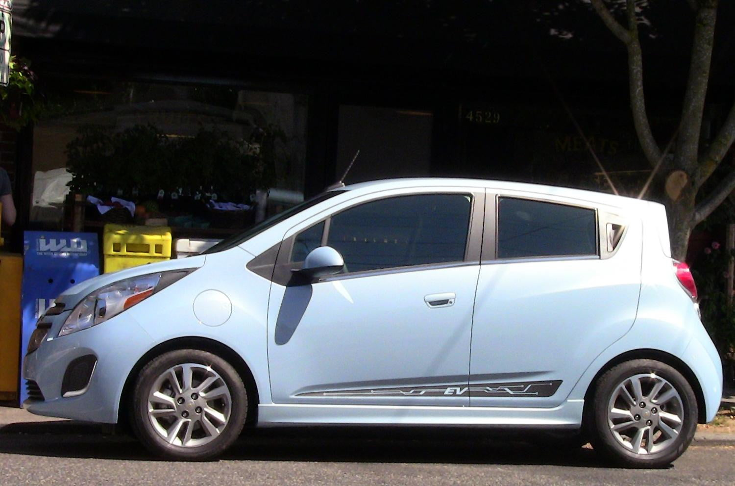2014 Chevy Spark EV first drive exterior left side