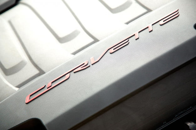 2014 Corvette Stingray Convertible corvette logo