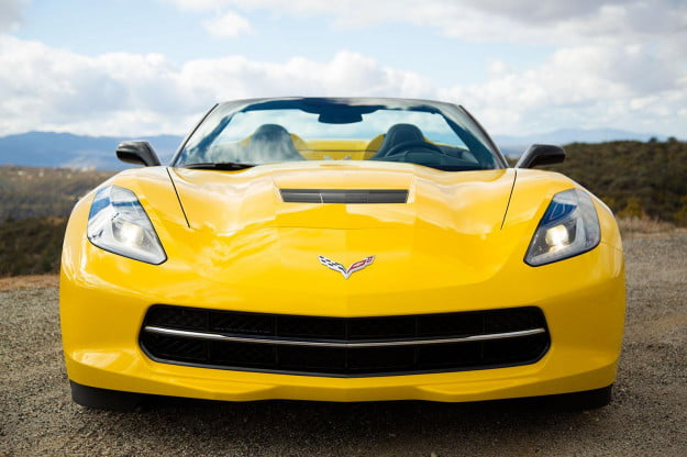 2014 Corvette Stingray Convertible front
