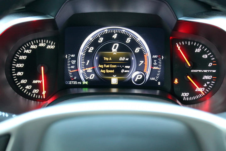 first drive  chevrolet corvette stingray stuns with speed precision and beauty gauges