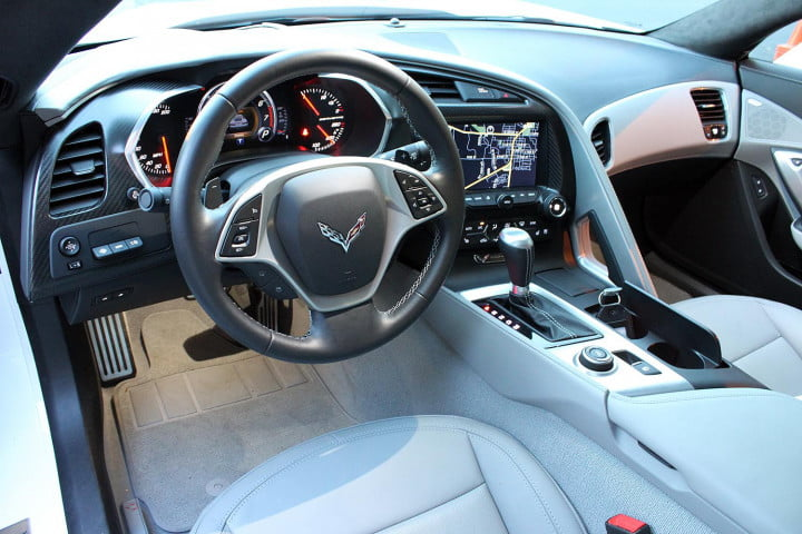 first drive  chevrolet corvette stingray stuns with speed precision and beauty interior