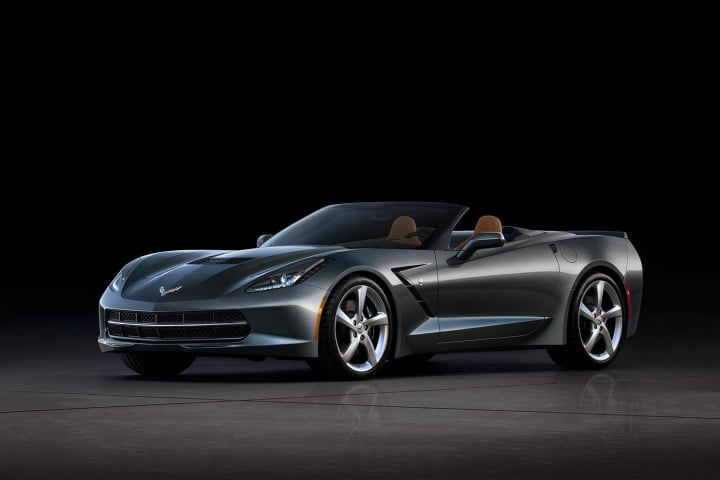 horsepower mpg how gms corvette engineers pulled off the impossible stingray premiere convertible exterior silver front left