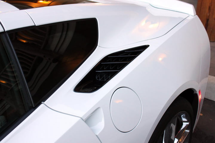 first drive  chevrolet corvette stingray stuns with speed precision and beauty sideinlet