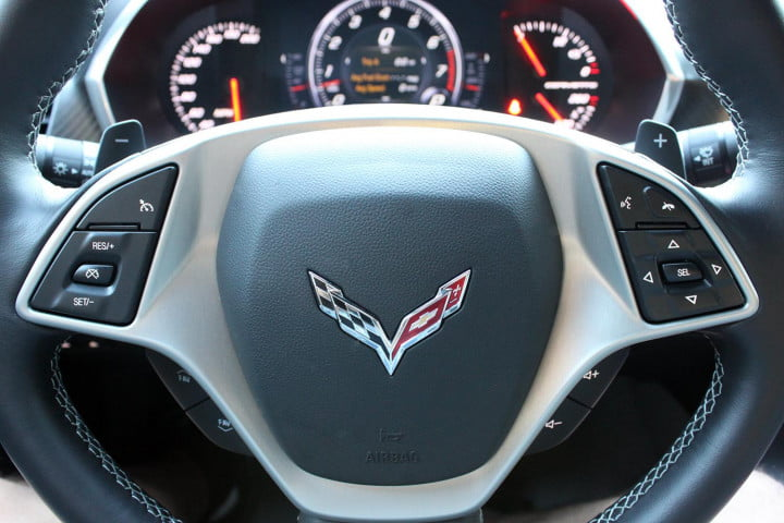 first drive  chevrolet corvette stingray stuns with speed precision and beauty steeringwhlcu