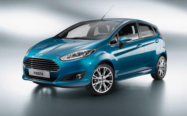2014 Ford Fiesta five-door hatchback