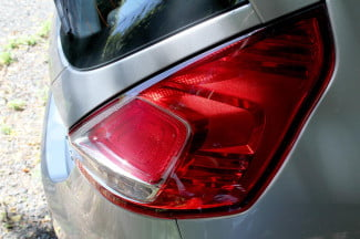2014 Ford Fiesta SE tail light angle
