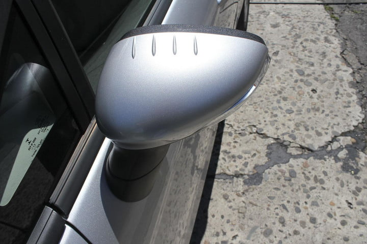 ford fiesta se review wingmirror
