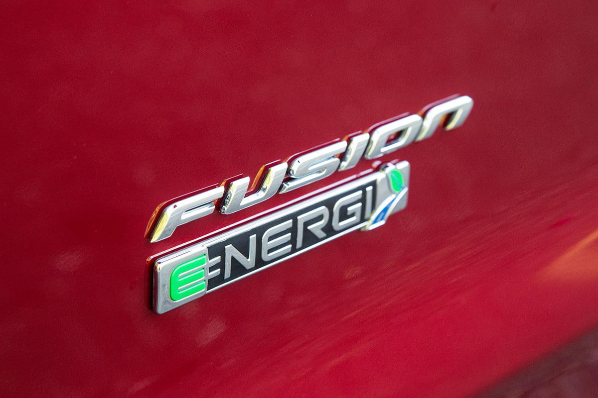 ford electric cars alexa compatible  fusion energi side badge