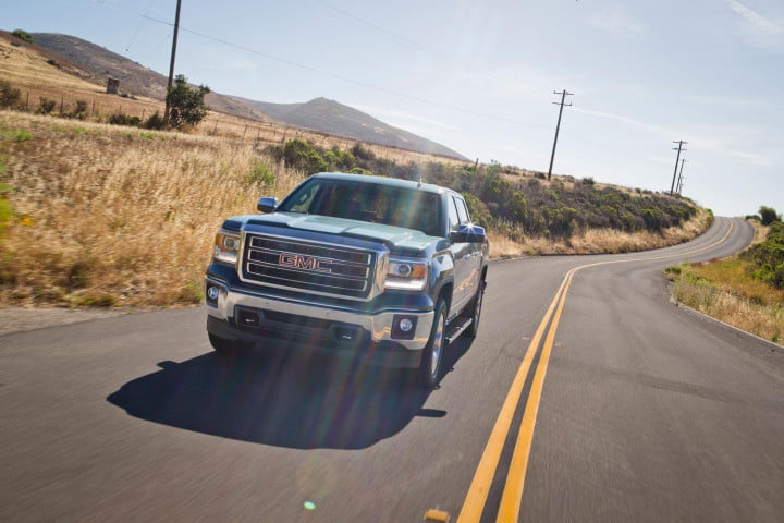 gmc sierra wd review in motion