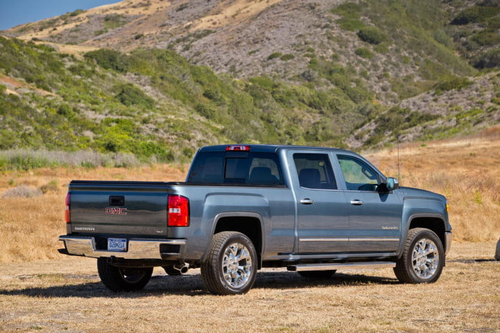 gmc sierra wd review rear right angled