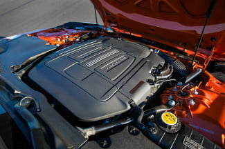2014 Jaguar F Type convertible engine