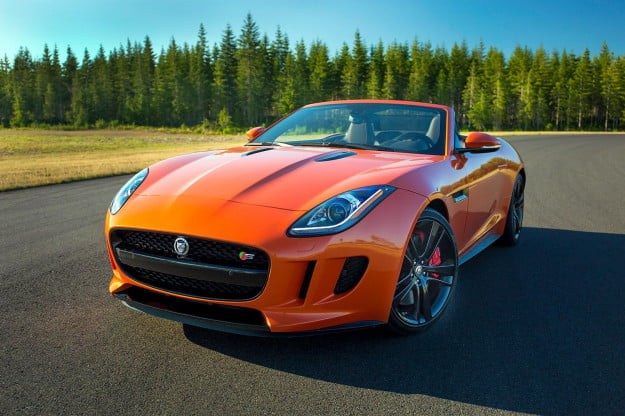 2014 Jaguar F Type convertible front left