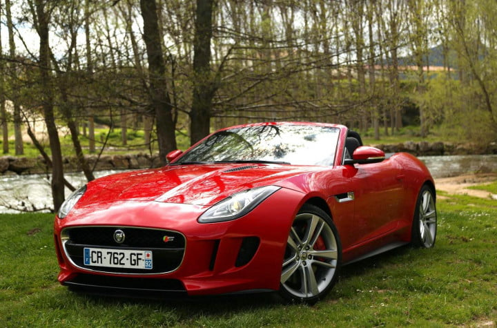 the key to a happy marriage is also new jaguar f type  front