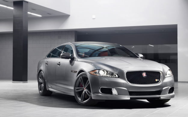 2014 Jaguar XJR front three quarter