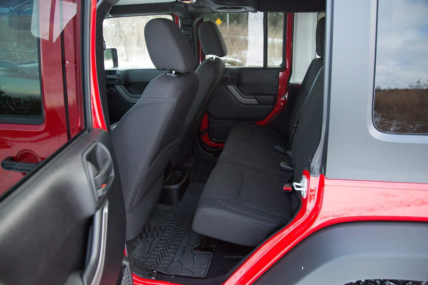 2015 jeep wrangler unlimited review digital trends - Jeep wrangler unlimited interior lights ...