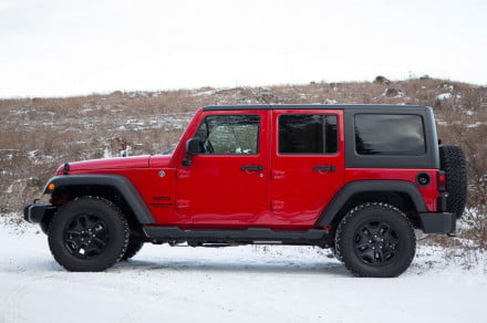 2014 Jeep Wrangler Unlimited Sport left