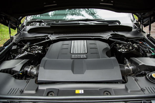 2014 Land Rover Range Rover Sport engine