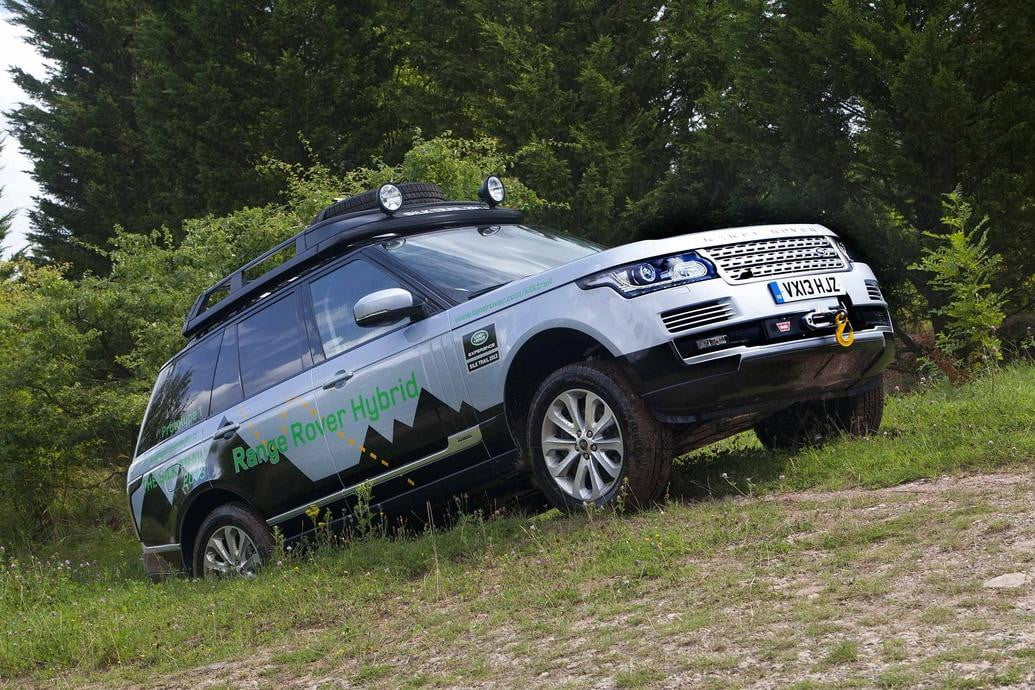 range rover and sport hybrids offer better fuel economy same off road prowess unveiled