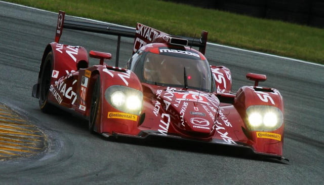 mazda diesel prototype to compete in tudor united sportscar championship