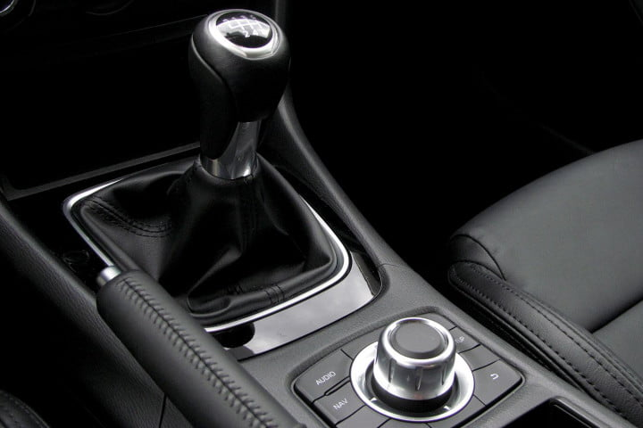 mazda i touring review gearstick