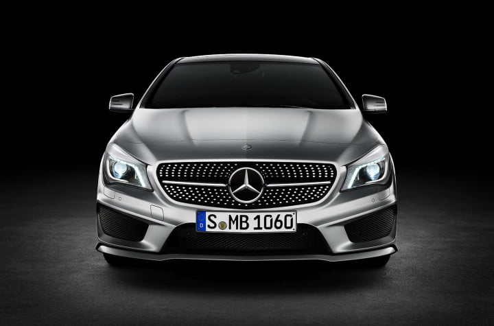 audi a vs mercedes benz cla front