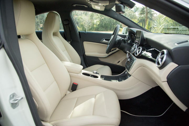mercedes benz cla review front interior side