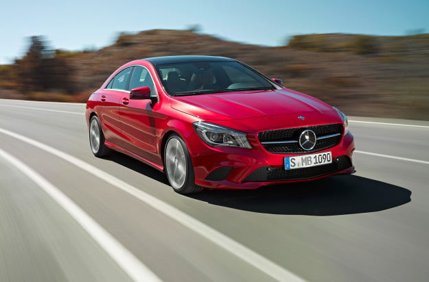 2014 mercedes benz cla250 front motion