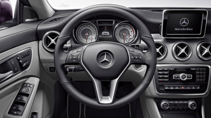audi a vs mercedes benz cla interior dash