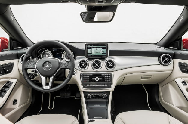 2014 mercedes benz cla250 interior dash tech