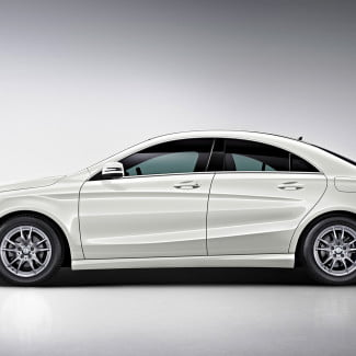 2014 mercedes benz cla250 left side