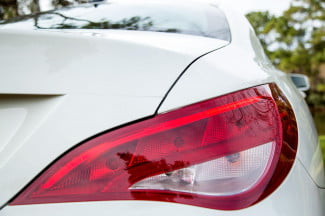2014 Mercedes Benz CLA250 tail light