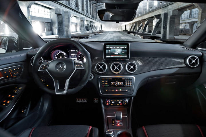 mercedes benz cla amg review interior front