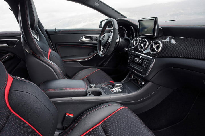 mercedes benz cla amg review interior side