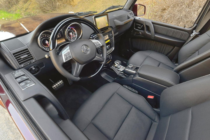 first drive  mercedes benz g amg drivers seat