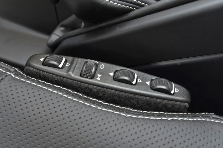first drive  mercedes benz g amg seat controls