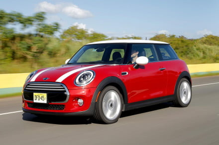 2014 MINI Cooper S front left angle driving