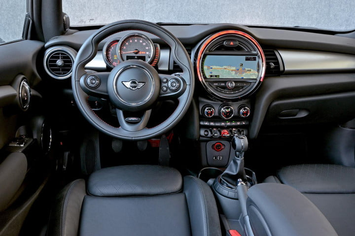 mini cooper hardtop review s interior from back