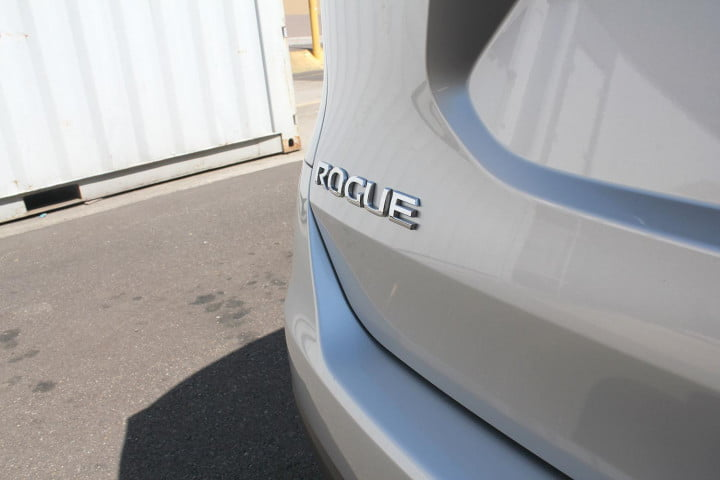 nissan rogue sv review badge