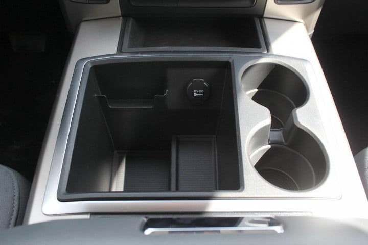ram big horn ecodiesel review center console plug