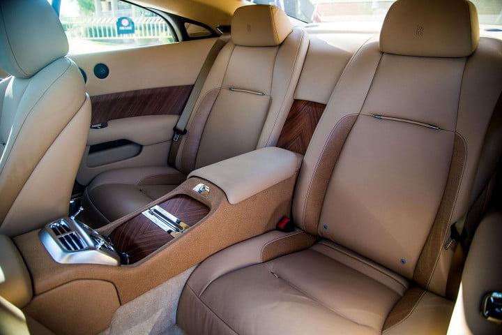 rolls royce wraith review interior back