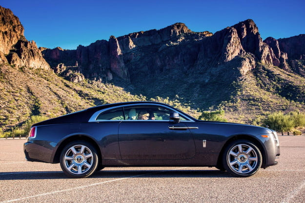 c2014 Rolls Royce Wraith right side