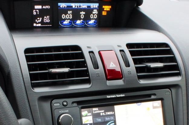 2014 subaru forester 2.5i touring cvt center information climate control