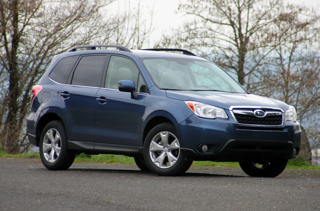 2014 subaru forester 2.5i touring cvt front right