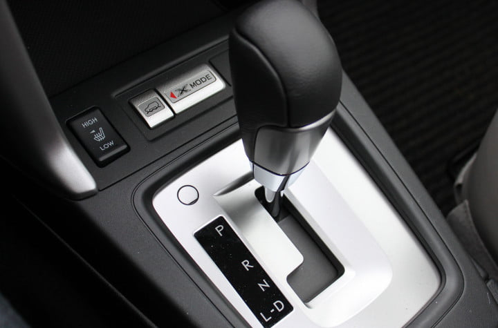 subaru forester i touring cvt gear shift xmode