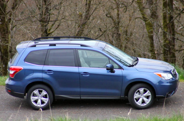 2014 subaru forester 2.5i touring cvt right side