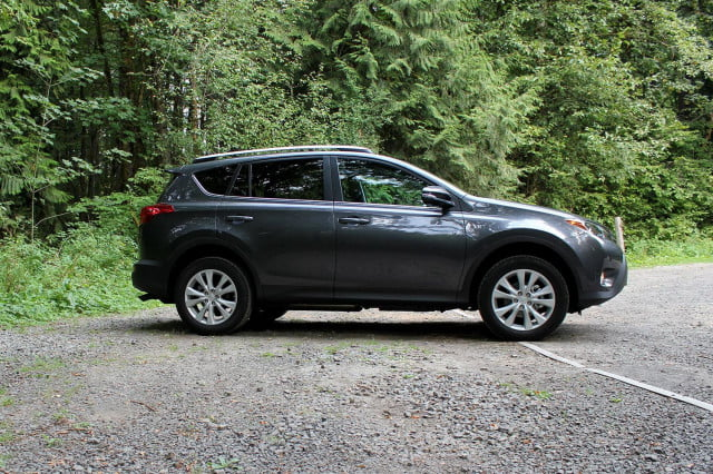 2014 Toyota Rav4 Limted left side