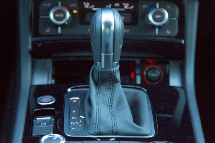 volkswagen touareg tdi sport review back gearstick