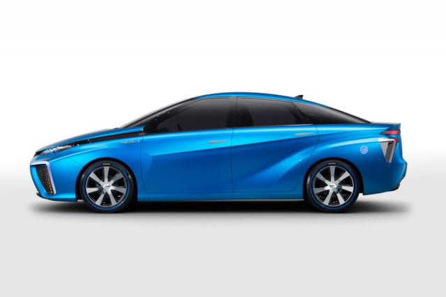 toyota hydrogen fuel cell vehicle tanks tested with bullets fcv concept at ces