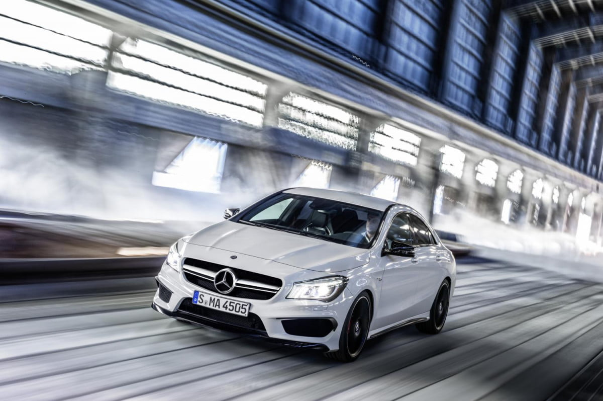 amg considers electric turbochargers  mercedes benz cla
